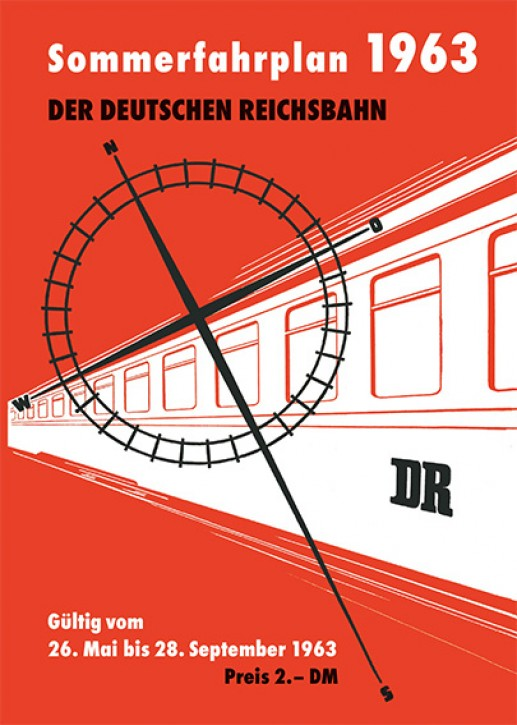 Kursbuch der Deutschen Reichsbahn - Sommerfahrplan 1963 (Reprint)