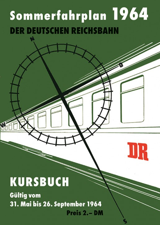 Kursbuch der Deutschen Reichsbahn - Sommerfahrplan 1964 (Reprint)