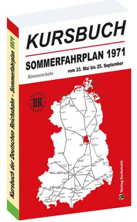 Kursbuch der Deutschen Reichsbahn - Sommerfahrplan 1971 (Reprint)