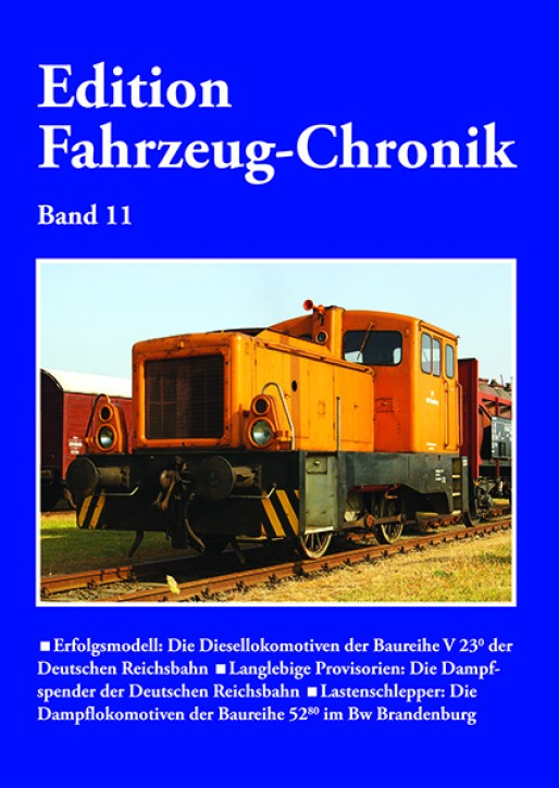 Edition Fahrzeug-Chronik Band 11