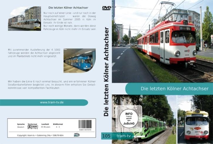 DVD: Die letzten Kölner Achtachser