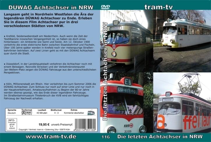 DVD: Die letzten Achtachser in NRW