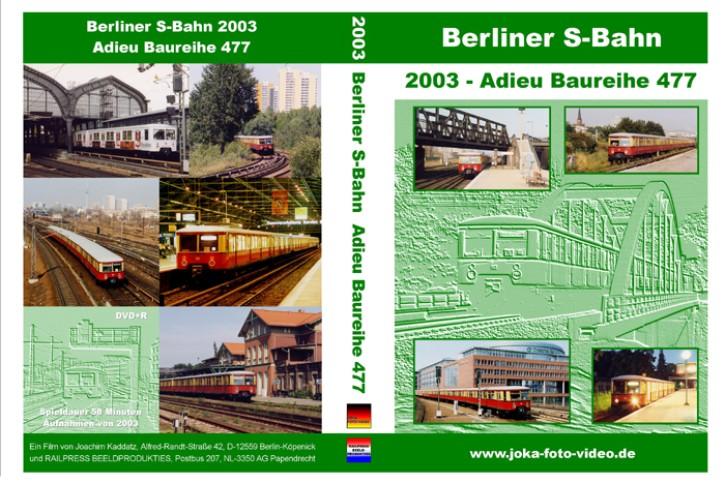DVD: Berliner S-Bahn. Adieu Baureihe 477