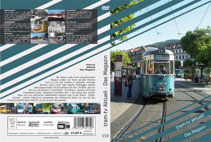 DVD: tram-tv aktuell. Das Magazin über die Straßenbahn 1-2010
