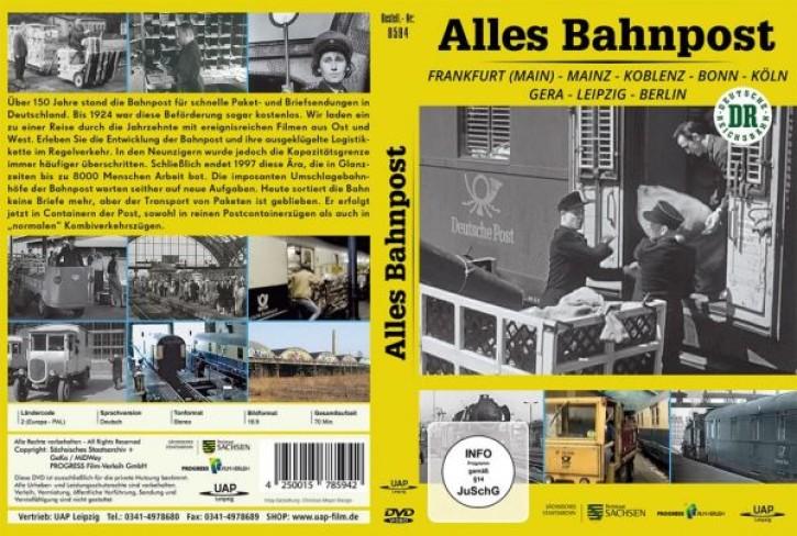 DVD: ALLES BAHNPOST. Frankfurt (Main) - Mainz - Koblenz - Bonn - Köln - Gera - Leipzig - Berlin