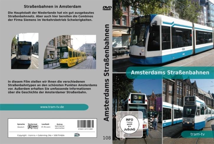 DVD: Amsterdams Straßenbahnen
