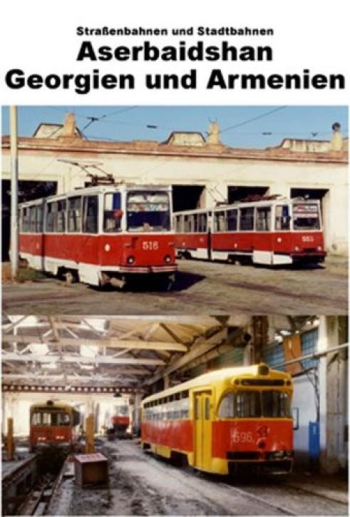 DVD: Straßenbahnen und Obusse in Aserbaidshan, Georgien und Armenien