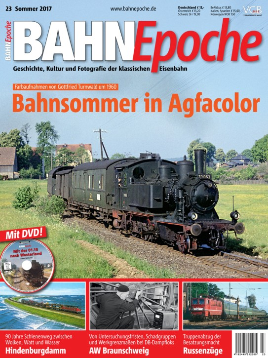 BahnEpoche 23: Bahnsommer in Agfacolor