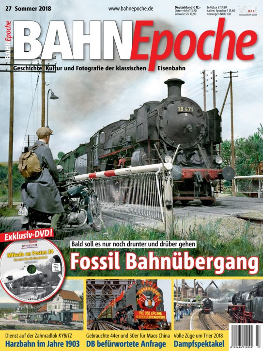 BahnEpoche 27: Fossil Bahnübergang