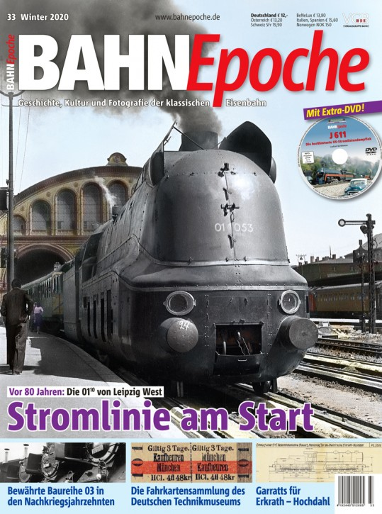 BahnEpoche 33: Stromlinie am Start