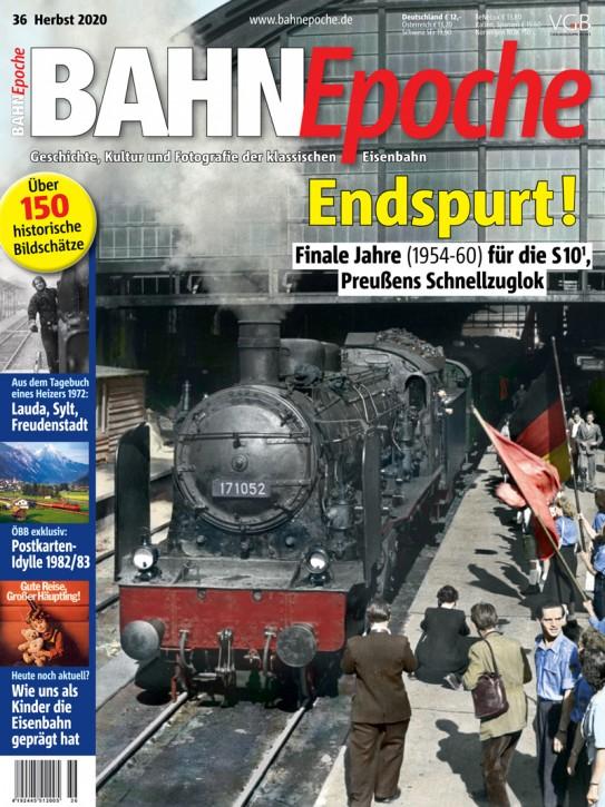 BahnEpoche 36: Endspurt! Finale Jahre (1954-60) für die S10.1, Preußens Schnellzuglok