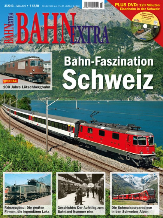 BahnExtra: Bahn-Faszination Schweiz