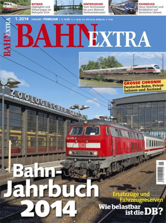 BahnExtra Heft 1-2014: Bahn-Jahrbuch 2014