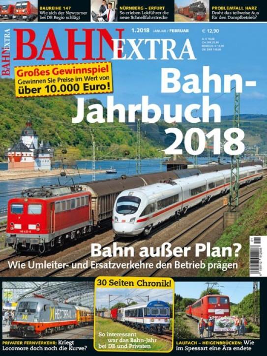 BahnExtra 1-2018: Bahn-Jahrbuch 2018