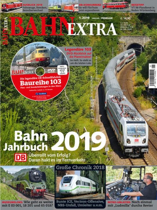 BahnExtra 1-2019: Bahn-Jahrbuch 2019