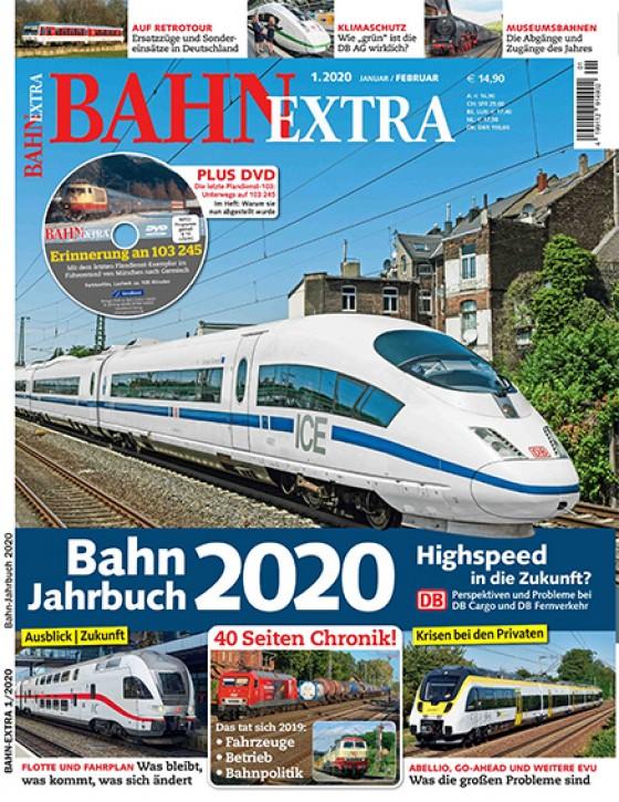 BahnExtra 1-2020: Bahn-Jahrbuch 2020