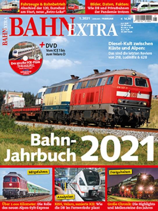 BahnExtra 1-2021: Bahn-Jahrbuch 2021