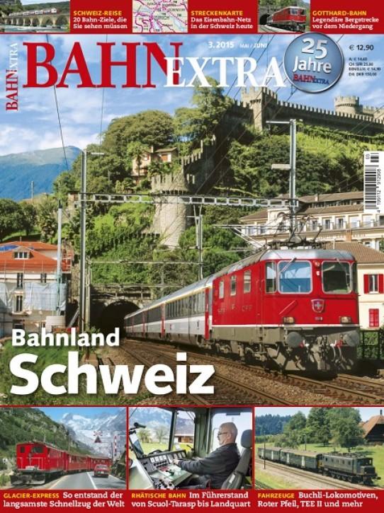BahnExtra: Bahnland Schweiz