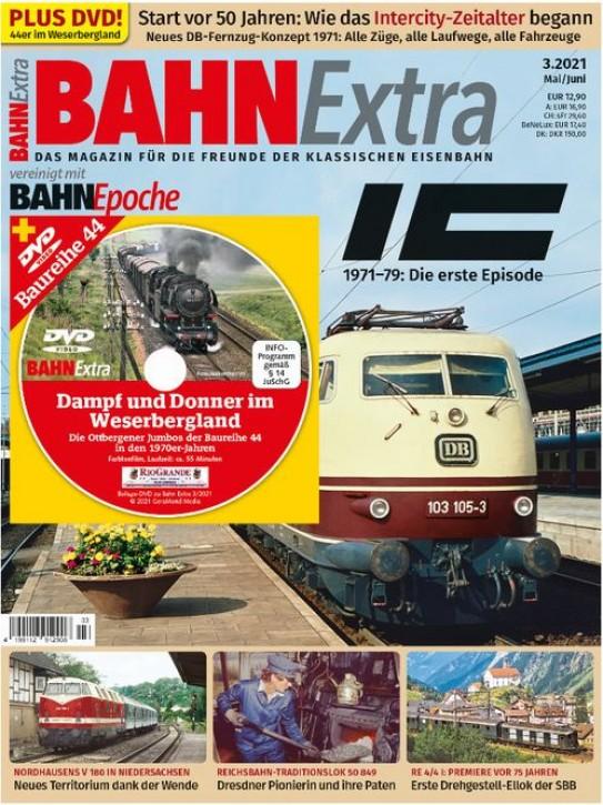 BahnExtra 3-2021: IC 1971 bis 79: Die erste Episode