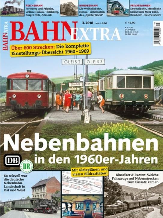 BahnExtra 3-2018: Nebenbahnen in den 1960er-Jahren