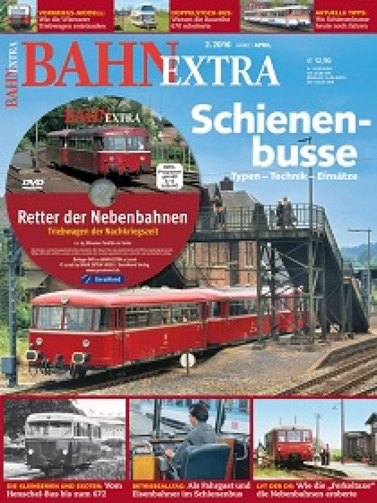 BahnExtra 2-2016: Schienenbusse. Typen - Technik - Einsätze