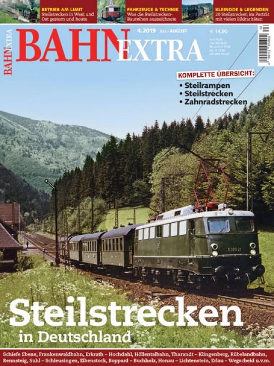 BahnExtra 4-2019: Steilstrecken in Deutschland