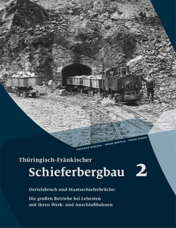 Thüringisch-Fränkischer Schieferbergbau 2. Siegfried Scheidig, Frank Barteld und Frank Schein