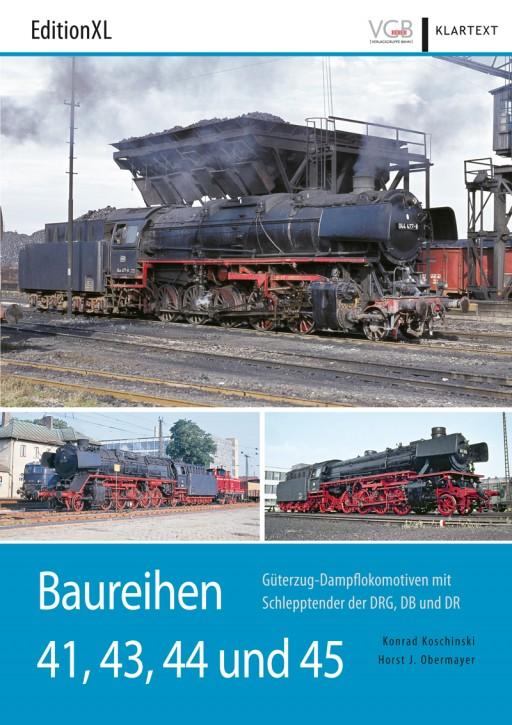 EditionXL: Baureihen 41, 43, 44 und 45