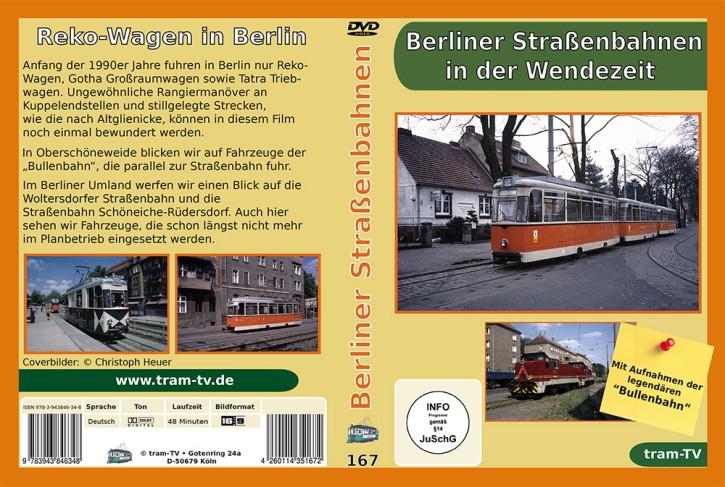 DVD: Berliner Straßenbahnen in der Wendezeit