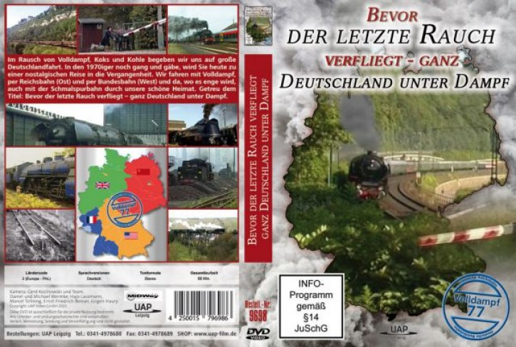 DVD: Bevor der letzte Rauch verfliegt - ganz Deutschland unter Dampf