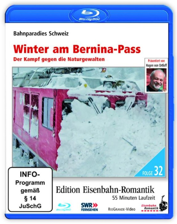 Blu-ray Disc: Winter am Bernina-Pass