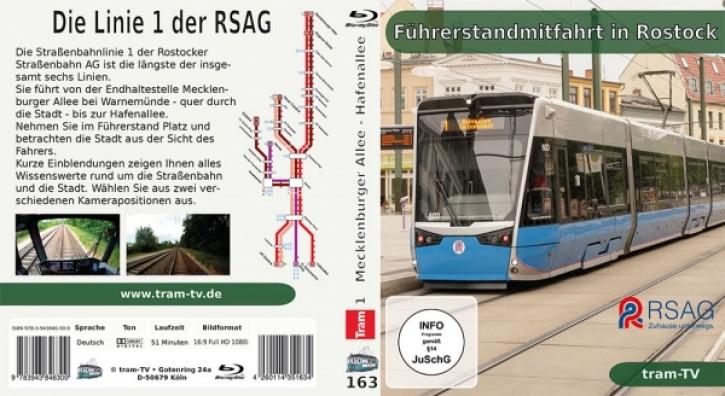 Blu-ray: Führerstandmitfahrt in Rostock - Linie 1