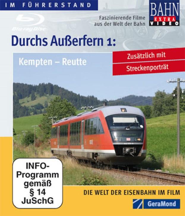 Blu-ray Disc: Durchs Außerfern Teil 1. Kempten - Reutte