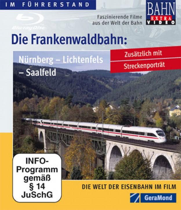 Blu-ray Disc: Die Frankenwaldbahn Nürnberg - Lichtenfels - Saalfeld