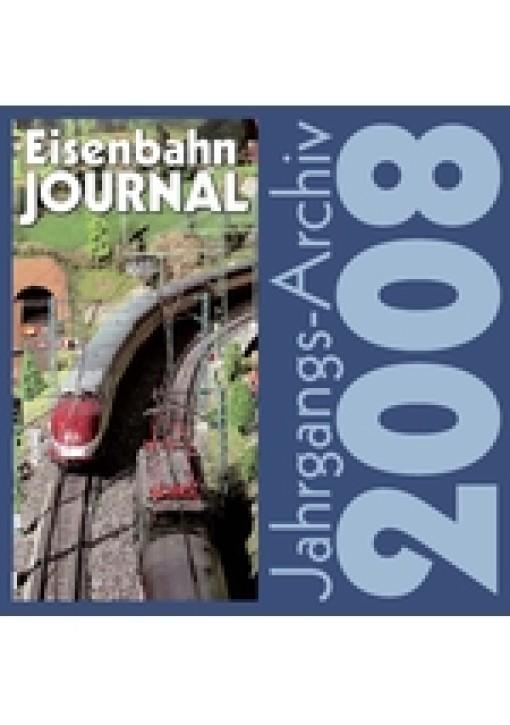 CD: Eisenbahn Journal Jahrgangsarchiv 2008