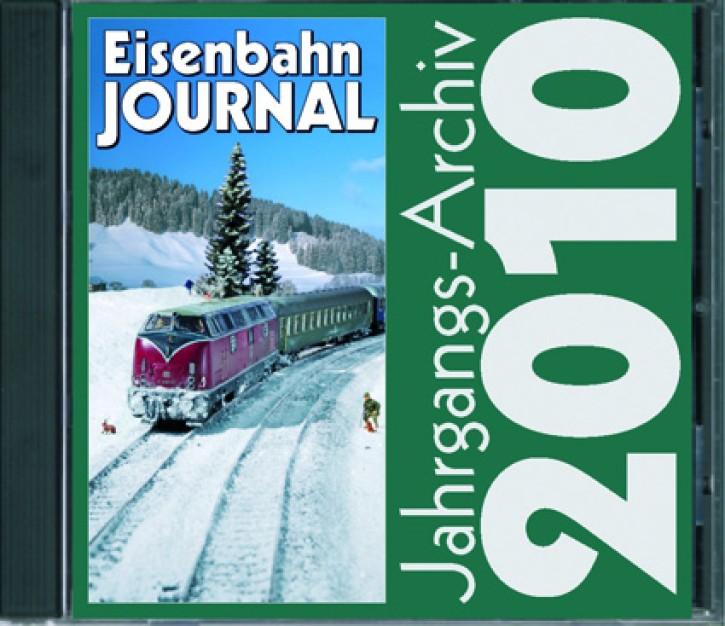 CD: Eisenbahn Journal Jahrgangsarchiv 2010