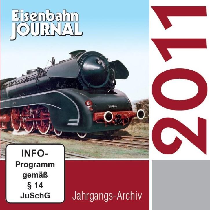 CD: Eisenbahn Journal Jahrgangs-Archiv 2011