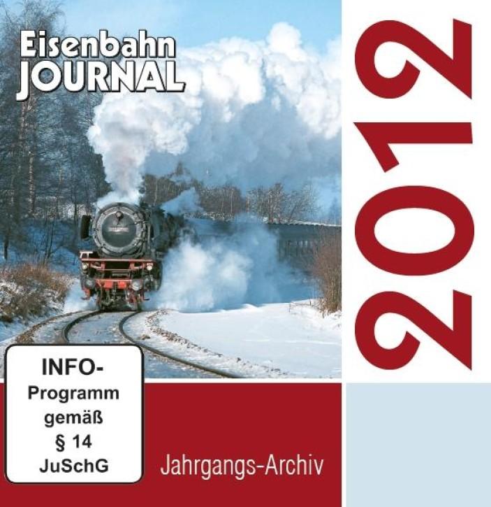 CD: Eisenbahn Journal Jahrgangs-Archiv 2012