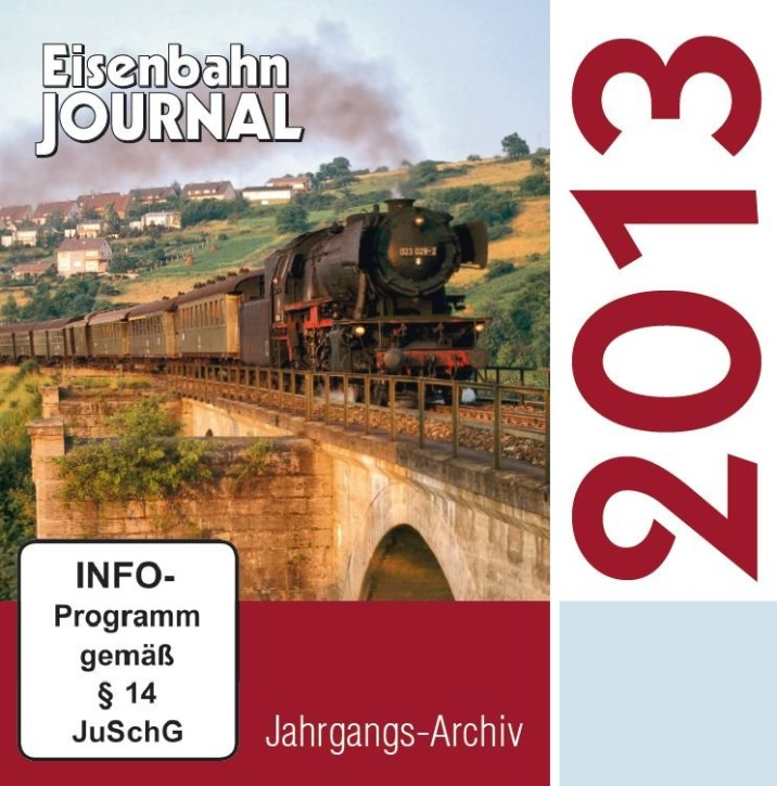 CD: Eisenbahn Journal Jahrgangs-Archiv 2013
