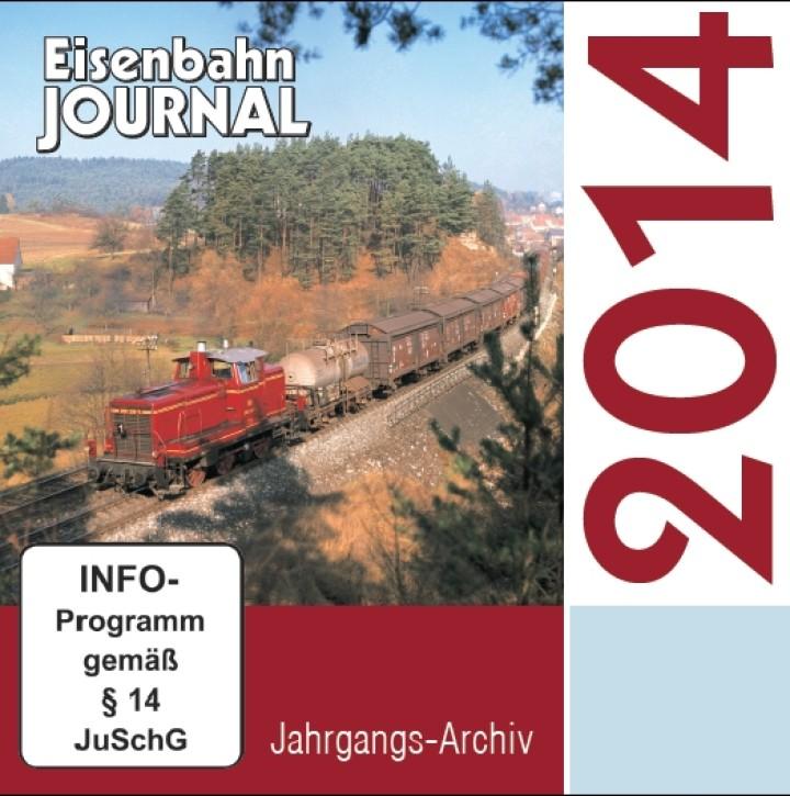CD: Eisenbahn Journal Jahrgangs-Archiv 2014