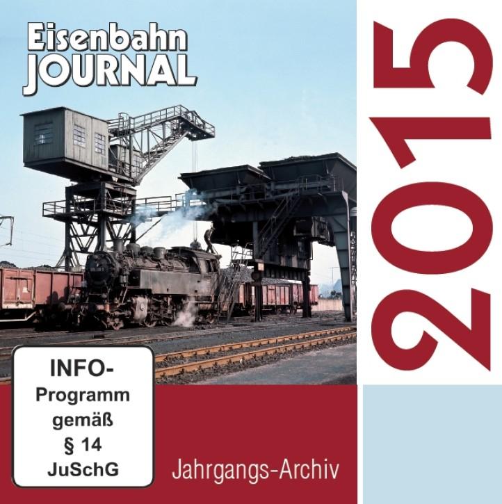 CD: Eisenbahn Journal Jahrgangs-Archiv 2015