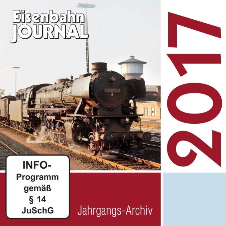 CD: Eisenbahn-Journal Jahrgangs-Archiv 2017