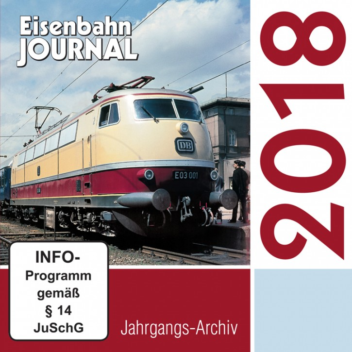CD: Eisenbahn-Journal Jahrgangs-Archiv 2018