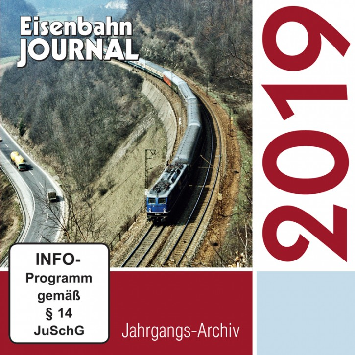 CD: Eisenbahn-Journal Jahrgangs-Archiv 2019