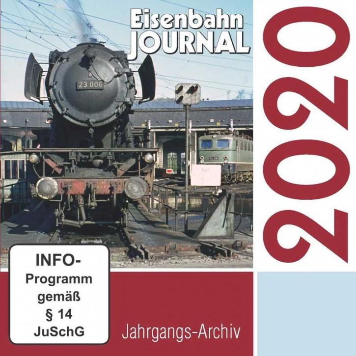 CD: Eisenbahn-Journal Jahrgangs-Archiv 2020