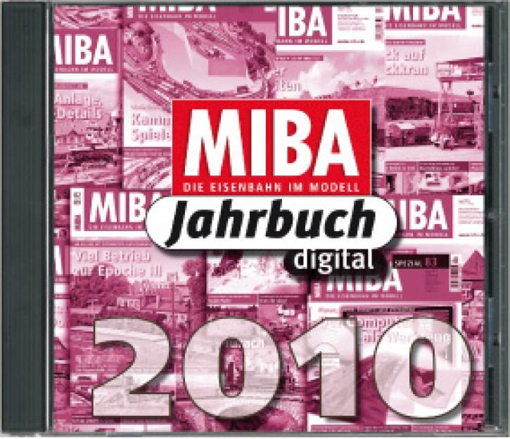 MIBA-Jahrbuch 2010 als CD-Rom