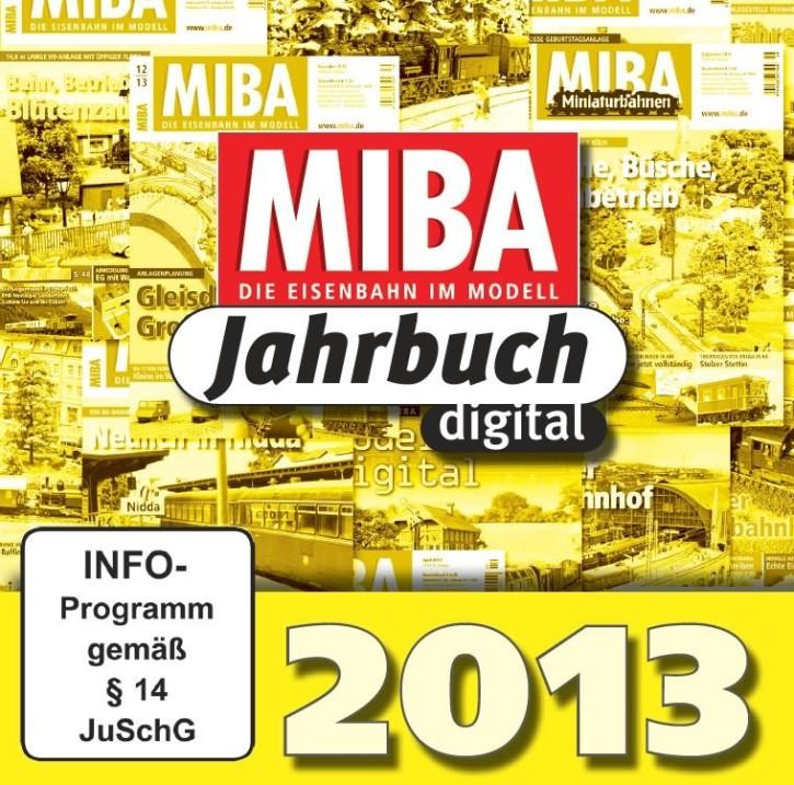 CD: MIBA-Jahrbuch 2013. Ein Jahr MIBA auf einen Klick