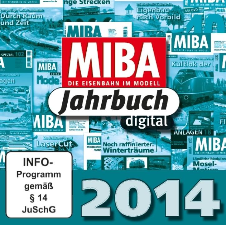 CD: MIBA-Jahrbuch 2014. Ein Jahr MIBA auf einen Klick