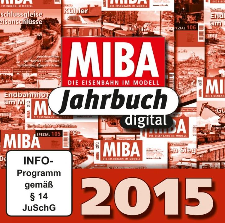 CD: MIBA-Jahrbuch 2015. Ein Jahr MIBA auf einen Klick