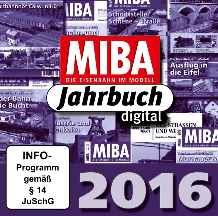 CD: MIBA-Jahrbuch 2016. Ein Jahr MIBA auf einen Klick